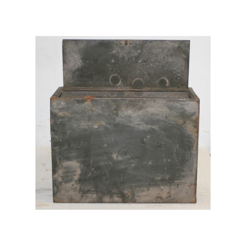 Petit rangement en metal m tal vintage - Casier metal rangement ...