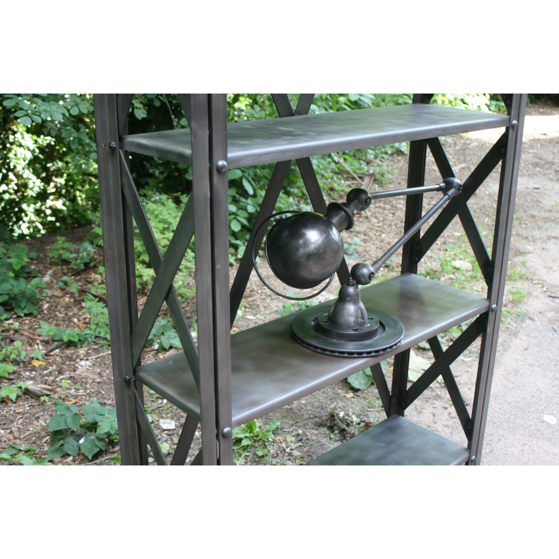 etagere metal m tal vintage. Black Bedroom Furniture Sets. Home Design Ideas
