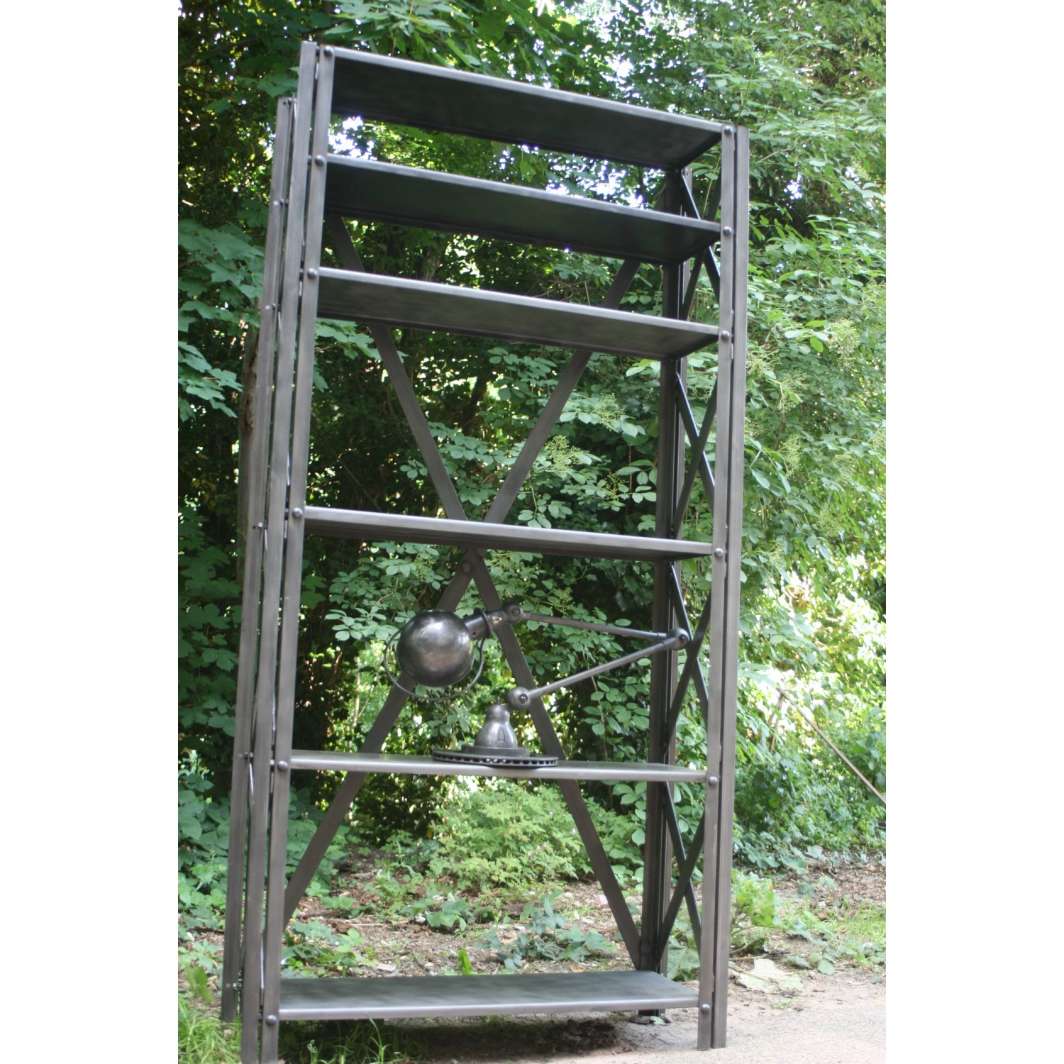Etagere metal for Etagere mural pas cher